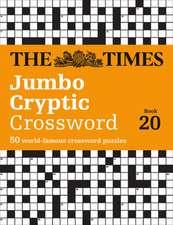 Times Jumbo Cryptic Crossword Book 20