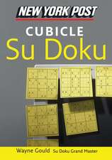 New York Post Cubicle Sudoku: The Official Utterly Addictive Number-Placing Puzzle
