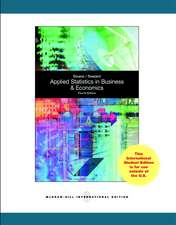Doane, D: Applied Statistics in Business and Economics