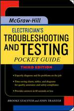 Electrician's Troubleshooting and Testing Pocket Guide, Third Edition
