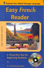Easy French Reader w/CD-ROM