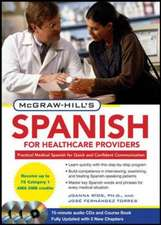 McGraw-Hill's Spanish for Healthcare Providers, Second Edition