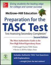 McGraw-Hill Education Preparation for the TASC Test 2nd Edition