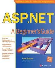 ASP.NET: A Beginner's Guide