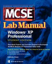 MCSE Windows XP Professional Lab Manual