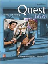 Quest Intro Level Reading and Writing Student Book