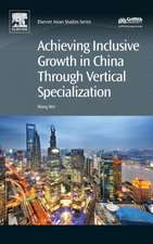 Achieving Inclusive Growth in China Through Vertical Specialization