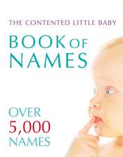 Contented Little Baby Book Of Names