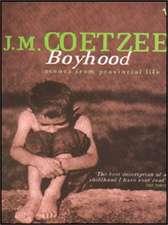Boyhood: A Memoir