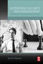 Enterprise Security Risk Management