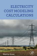 Electricity Cost Modeling Calculations