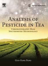 Analysis of Pesticide in Tea: Chromatography-Mass Spectrometry Methodology
