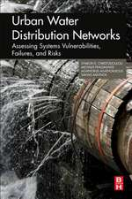 Urban Water Distribution Networks