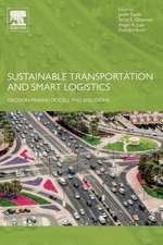 Sustainable Transportation and Smart Logistics