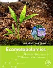Ecometabolomics: Metabolic Fluxes versus Environmental Stoichiometry