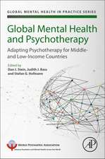 Global Mental Health and Psychotherapy: Adapting Psychotherapy for Low- and Middle-Income Countries