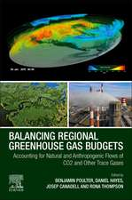 Balancing Regional Greenhouse Gas Budgets: Accounting for Natural and Anthropogenic Flows of CO2 and other Trace Gases
