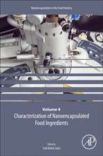 Characterization of Nanoencapsulated Food Ingredients