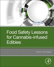 Food Safety Lessons for Cannabis-Infused Edibles