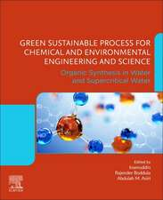 Green Sustainable Process for Chemical and Environmental Engineering and Science