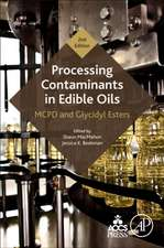 Processing Contaminants in Edible Oils