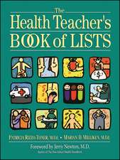 The Health Teacher′s Book of Lists