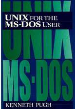 Unix for the MS-DOS User