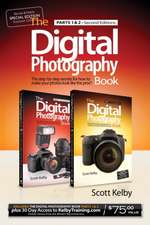 Digital Photography Book, Parts 1 and 2 with 1 Month of Access to Kelby Training, B&N