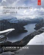 Adobe Photoshop Lightroom CC / Lightroom 6 Classroom in a Book:  Best Practices for Professional Developers