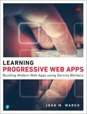 Learning Progressive Web Apps