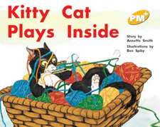 Kitty Cat Plays Inside PM PLUS Level 8 Yellow