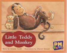 Little Teddy and Monkey PM GEMS Red Levels 3,4,5