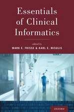 Essentials of Clinical Informatics