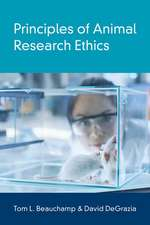 Principles of Animal Research Ethics