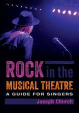 Rock in the Musical Theatre