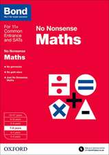 Bond: Maths: No Nonsense: 7-8 years