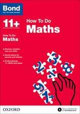 Bond 11+: Maths: How to Do