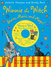 Winnie the Witch: Stories, Music, and Magic! with audio CD