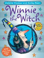 Winnie the Witch 25th Anniversary Edition with audio CD