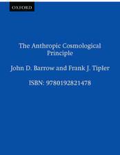 The Anthropic Cosmological Principle
