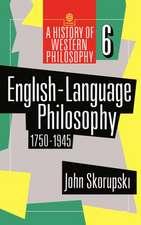 English-Language Philosophy 1750-1945