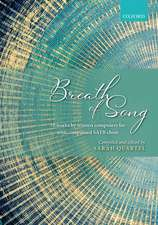 Breath of Song: 10 concert works by women composers for SATB unaccompanied