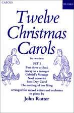 Twelve Christmas Carols Set 2
