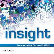 insight: Pre-Intermediate: Test Bank MultiROM