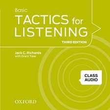 Tactics for Listening: Basic: Class Audio CDs (4 Discs)