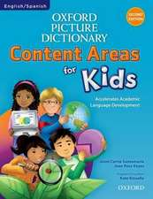 Oxford Picture Dictionary Content Areas for Kids: English-Spanish Edition