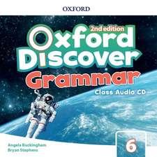 Oxford Discover: Level 6: Grammar Class Audio CDs
