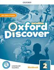 Oxford Discover: Level 2: Workbook with Online Practice