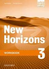 New Horizons: 3: Workbook
