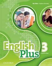 English Plus: Level 3: Student's Book: The right mix for every lesson